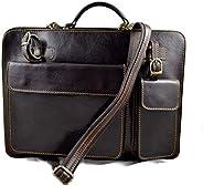 Cartella pelle borsa ufficio uomo donna valigetta 24 ore borsa pelle messenger a mano e tracolla borsa spalla