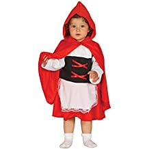 Guirca - Disfraz caperucita baby, Talla 10-12 años (85563.0)