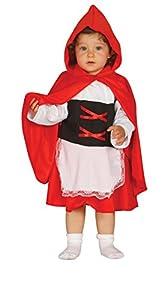 Guirca- Disfraz caperucita baby, Talla 10-12 años (85563.0)