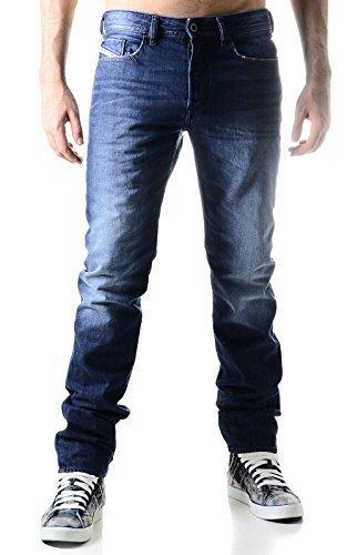 Diesel Herren Jeans Hose Buster 0838B Slim Fit (W36/L34, Blau) (Gesäßtasche-jeans Blau-stich)