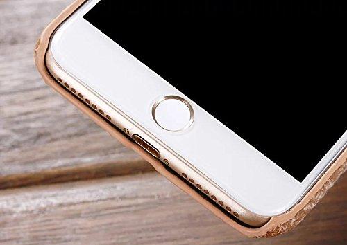 EKINHUI Case Cover IPhone 7 Plus Fall-Abdeckung, Leinenbeschaffenheits-Muster-harte schützende Abdeckung für IPhone 7 Plus ( Color : 7 , Size : IPhone 7 Plus ) 3