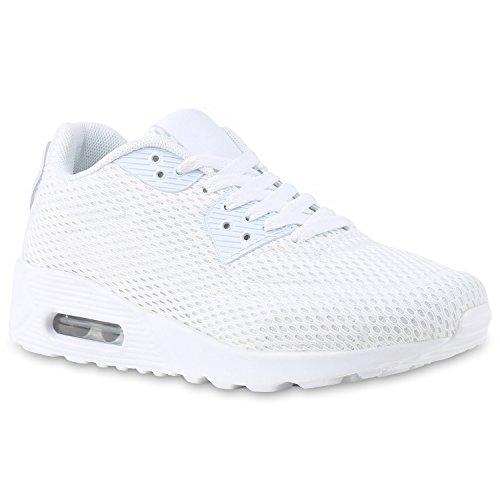 Trendige Unisex Laufschuhe   Damen Herren Kinder   Sportschuhe Metallic Glitzer   Camouflage Sneaker Bunt   Schnür Sport Turnschuhe White
