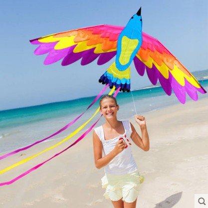 Secvbg nuovo divertimento all'aperto di alta qualità sport aquiloni per bambini e adulti grandi aquiloni easy flyer con stringa e maniglia