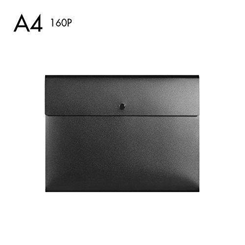 btjc Große Kapazität Snap Datei Tasche A4Simple Business Custom Bag Office Stationery Supplies,...