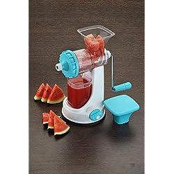 Ganesh Plastic Fruit and Vegetable Juicer, Blue