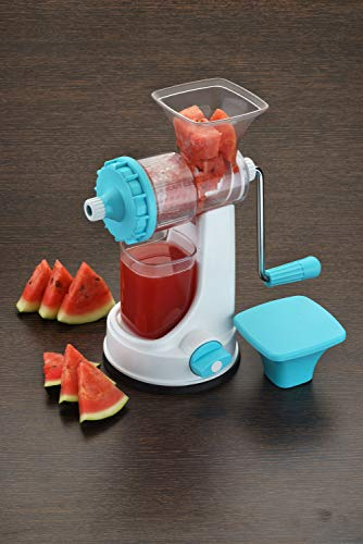 Ganesh Plastic Fruit and Vegetable Juicer, Blue
