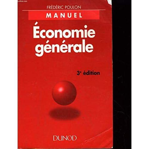 ECONOMIE GENERALE. 3ème édition