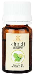 Khadi Herbal Bergamot Essential Oil, 15ml