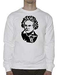 Atprints Ludwig Van Beethoven Composer Artwork Unisex Sweater