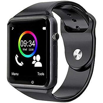 wertyhy Reloj Inteligente Smart Watch Clock Sync Notifier Watch ...