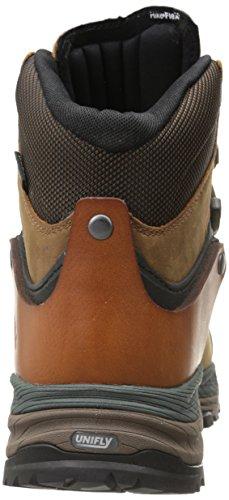 Merrell CRESTBOUND GTX Herren Trekking- & Wanderstiefel Braun (DORADO / FOREST GREEN)
