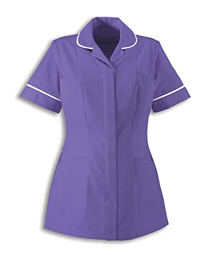 Alexandra Workwear HP298 Womens Healthcare Tunic Purple 14