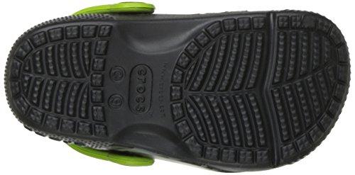 Crocs Fun Lab Clog K Tigr/Gpt, Sabots Mixte Enfant Multicolore (Tiger/Graphite)
