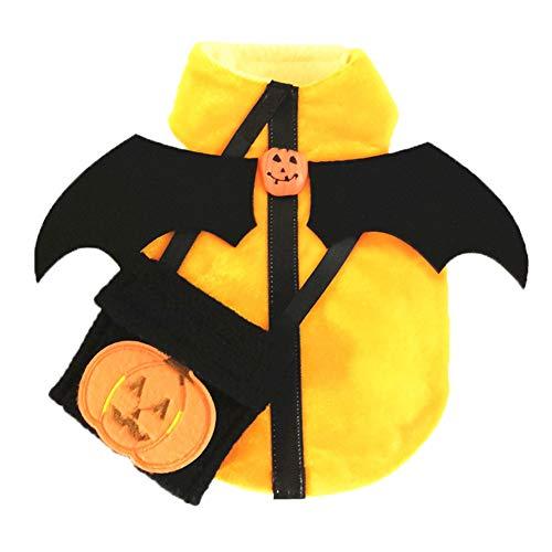 TFWJ Haustier Kostüme Hundekleidung Kürbis Dämon Band Paket Halloween Cosplay,XS (21 Piloten Kostüm)