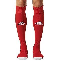 adidas Mens Plain Socks (AJ5906_3436_Red and White)