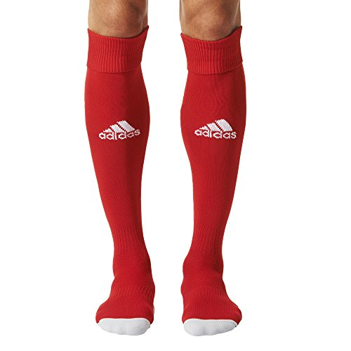 adidas Herren Milano 16 Socken, Mehrfarbig (Power Red/White), 43-45 (Running Sport Socken Nylon)