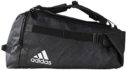 adidas Tasche Team Travel Multifunktionstasche Sporttasche Black/White, 70 x 35 x 32 cm