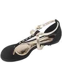 Moda Brasil Metal Color White Fashion Sandals For Women