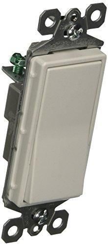 15 Amp Single Pole (Pass & Seymour TM870WCP6 White Decorator Single Pole Switch 15amp - by Legrand-Pass & Seymour)