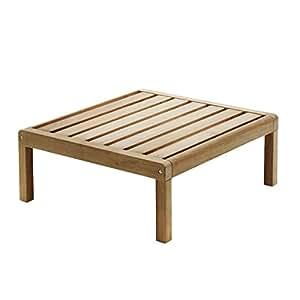 Skagerak virke Lyst Outdoor tavolino, Teak, 75x 70x 30cm