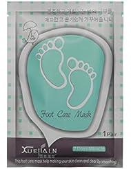 Masque Pied Peau Morte,LONUPAZZ 1Pair Exfoliant Peel Foot Mask Baby Pied doux Supprimer Callus Hard Dead Skin