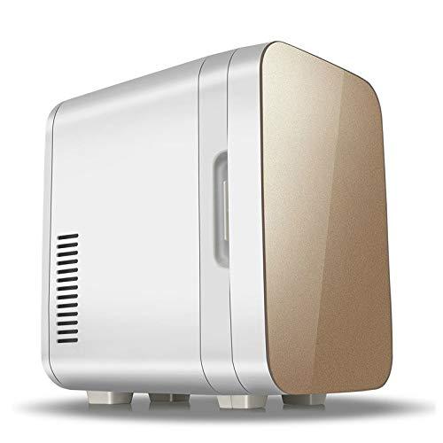 HDZWW 6L Refrigeration Car Refrigerator, kaltes und warmes Auto Dual-use Leicht zu tragen 220V AC / 12V DC Mini-Zuhause stummes Auto-Kühl-Kühlschränke, Reisen im Freien wesentlich Innen- und Außenbere