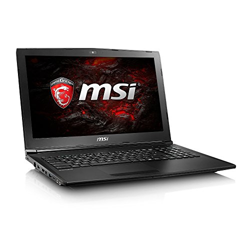 MSI GL62M 7REX 15.6-Inch Laptop (Black) - (Intel Core i7-7700HQ 2.8GHz Processor, 8GB RAM, 256GB SSD Plus 1TB HDD, GeForce GTX 1050 Ti Graphics, Windows 10 Home)