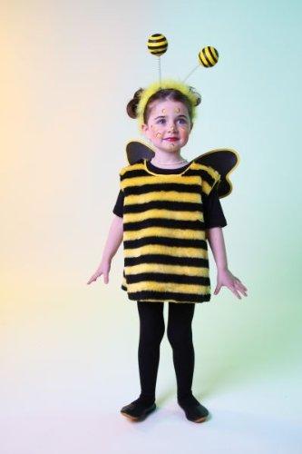 Größe Kind Biene Kostüme (Karneval Kinder Kostüm Bienchen Biene Bienenkostüm Größe)