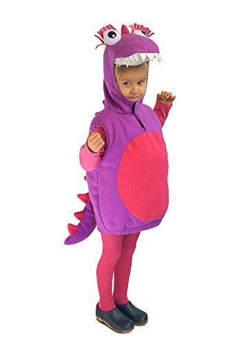 Baby Drache Kinder Kostüm 86 - 92 für Fasching Karneval Kinderkostüm Dino Dinosaurier (Baby Drache Dinosaurier Kostüm)