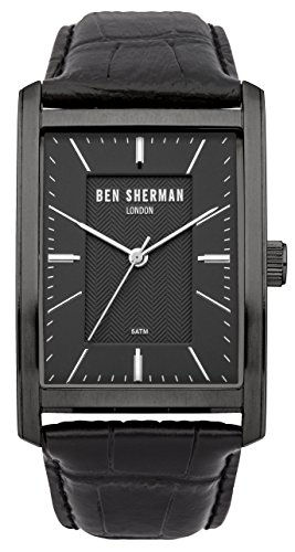 ben-sherman-mens-quartz-watch-with-black-dial-analogue-display-and-black-leather-strap-wb013b