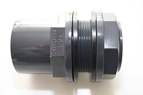 ERA 'PVC U 50 mm 63 x 50 x 2 avec manchon Colle et filetage extérieur