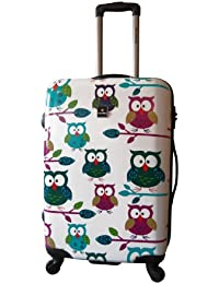 Saxoline Owls 4-Rollen-Trolley 71 cm