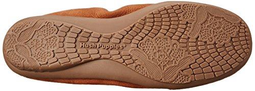 Hush Puppies Lydia Ceil Slip-on Loafer Cognac Nubuck