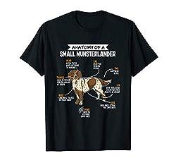 Anatomie Eines Kleiner Münsterländer Hunde Herrchen Frauchen T-Shirt
