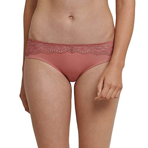 Schiesser Damen Hipster, Rot (Terracotta 532), 38 (Herstellergröße: 038)