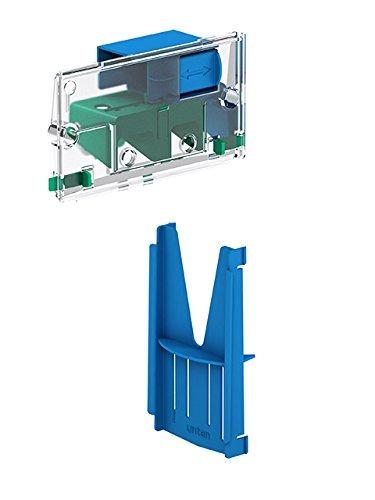 MEPA Einwurfschacht WC-Tabs, 1 Stück, grün/blau, 421910