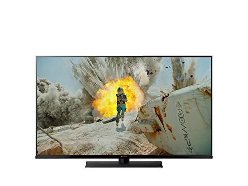 Panasonic TX-65FX740E TV LED 4K UHD HDR10+ 65'', Triplo Sintonizzatore DVB-T/T2/DVB-S2/DVB-C, Bluetooth, Wi-Fi, Cornice in Vetro, Nero