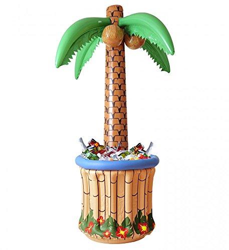 aufblasbarem Getränkekühler 182 cm Beach-Party Garten-Party Sommer-Deko Party-Zubehör JGA ()