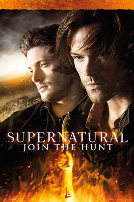 GB Eye, Supernatural, Fire, Maxi Poster, 61 x 91,5 cm