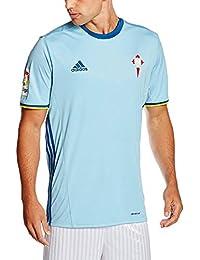 Adidas Celta H JSY Camiseta, Hombre, Azul (Azucla/Rojpot), S