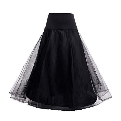 Used, AWEI A Line Petticoat Skirt Floor Length Bridal Petticoat for sale  Delivered anywhere in UK