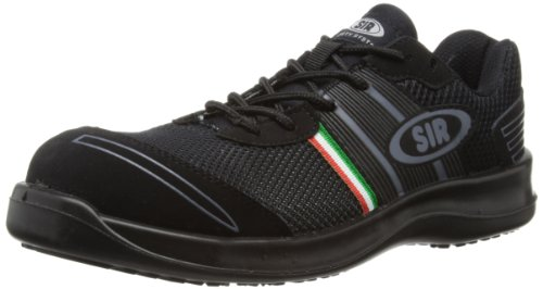 SIR Safety - Scarpe Fobia Mesh, Unisex adulto, Nero (negro), 40.5