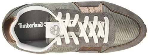 Timberland Retro Runner Oxsteeple Grey Hammer Suede, Oxford Femme Gris (Steeple Grey Hammer Suede)