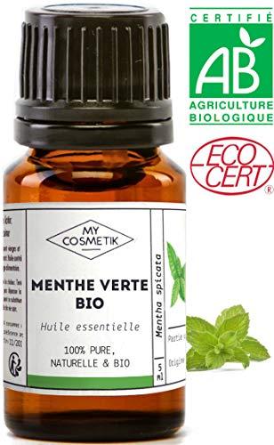 Ätherisches Öl von grüne Minze organisch - MyCosmetik - 10 ml -