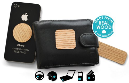 Price comparison product image Touch Wood Stickers by Suck Uk - portable, self-adhesive protection against the jinx!