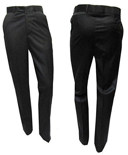 MUGA -  Pantaloni da abito  - Basic - Uomo Nero