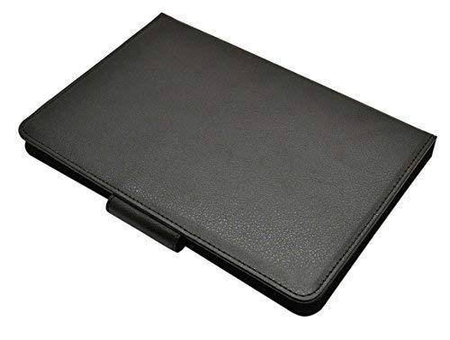 Schwarz Leder Effekt zusammenklappbar 20,1cm Schutzhülle für Tablets, iPad Mini 2und E-Book Readers