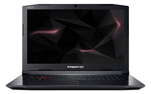 Acer Predator Helios 300 G3-572-7378 39,6 cm (15,6 Zoll Full-HD IPS matt) Gaming Notebook (Intel Core i7-7700HQ, 16GB RAM, 256GB PCIe SSD, 1TB HDD, GeForce GTX 1060 (6 GB VRAM), Win 10) schwarz