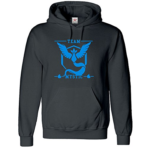 Star and Stripes Inspired TEAM MYSTIC - Poke them and Go Hoodie All Size (PLUS 1 T SHIRT) - Kids 12/13 Yrs