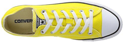 Converse Chuck Taylor All Star Ox, Unisex-Erwachsene Sneaker Gelb